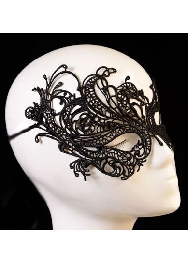Picture of Black butterfly mask 0064
