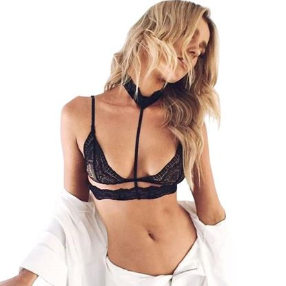 Zdjęcie Bielizna erotyczna- Biustonosz z obrożą na szyje 0002